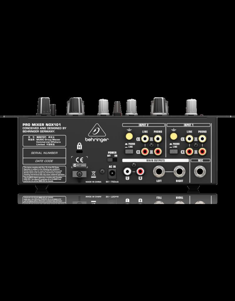 Behringer NOX101 - DJ Mixer