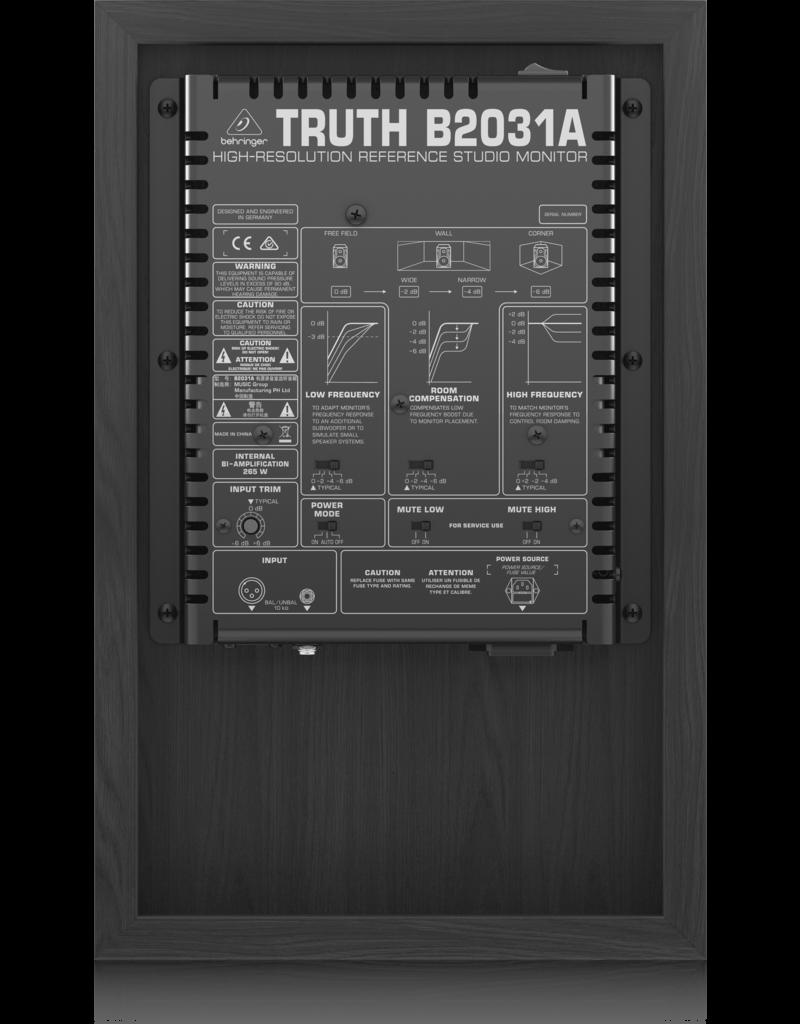 Behringer Behringer B2031A Actieve 2 weg studio monitor