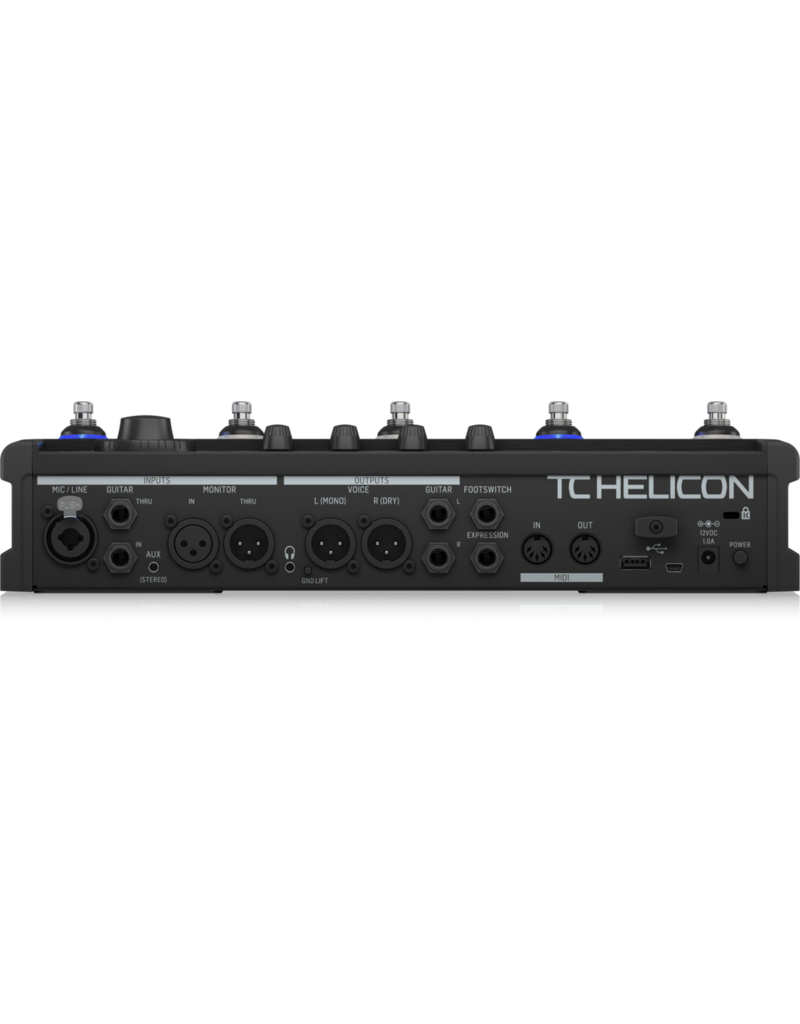 TC Helicon VOICELIVE 3 EXTREME  Vocal & Microphone Effect processor