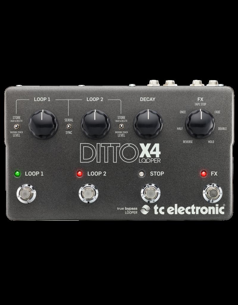 TC-Electronic DITTO X4 LOOPER - Stompbox