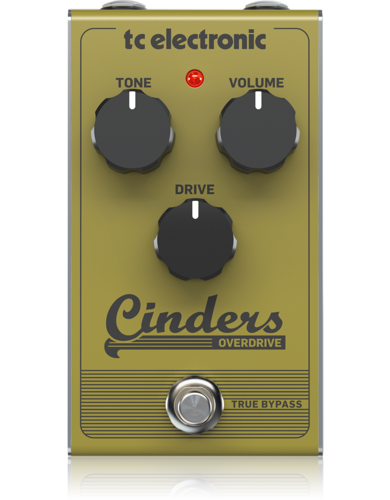 TC-Electronic CINDERS OVERDRIVE - Stompbox
