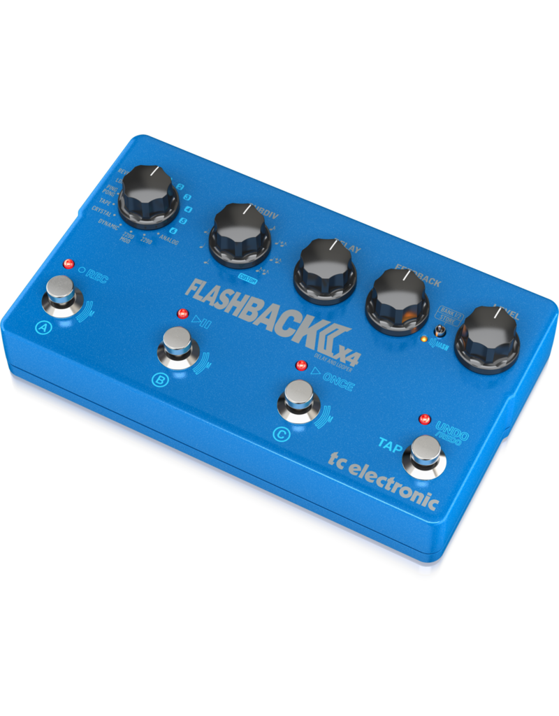 TC-Electronic FLASHBACK 2 X4 DELAY - Guitar effect