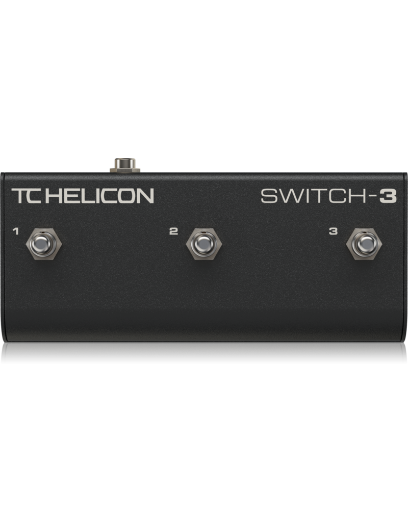 TC Helicon Switch-3 Pedale au pied