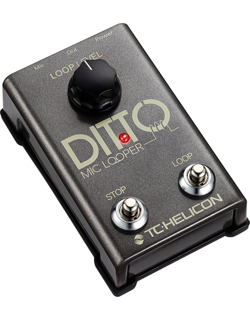 TC-Electronic DITTO MIC LOOPER - Looper pedal