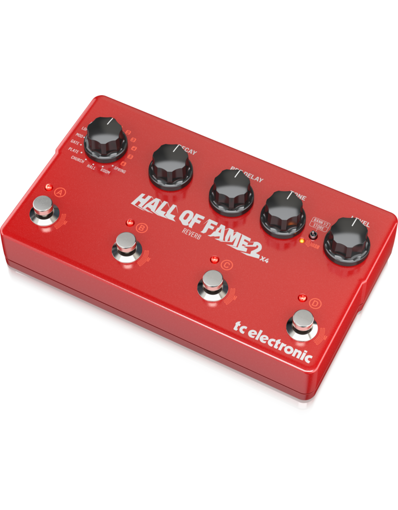 TC-Electronic Hall of Fame 2 x4 Reverb - Effect pedal