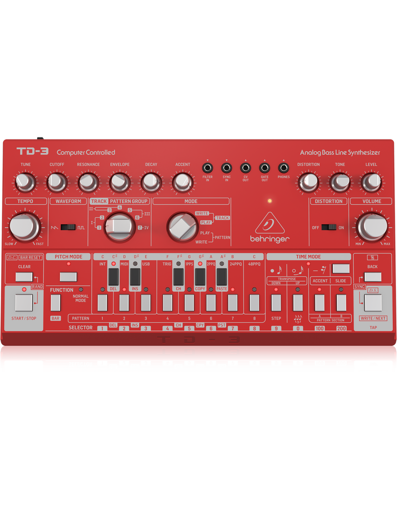 Behringer TD-3-RD - Analoge Synthesizer