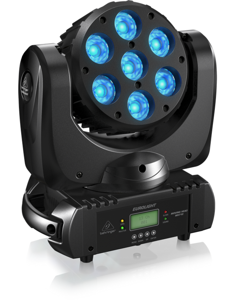 Behringer Compacte Moving Head Wash Lighting Effect met 7X10W RGBW LEDs