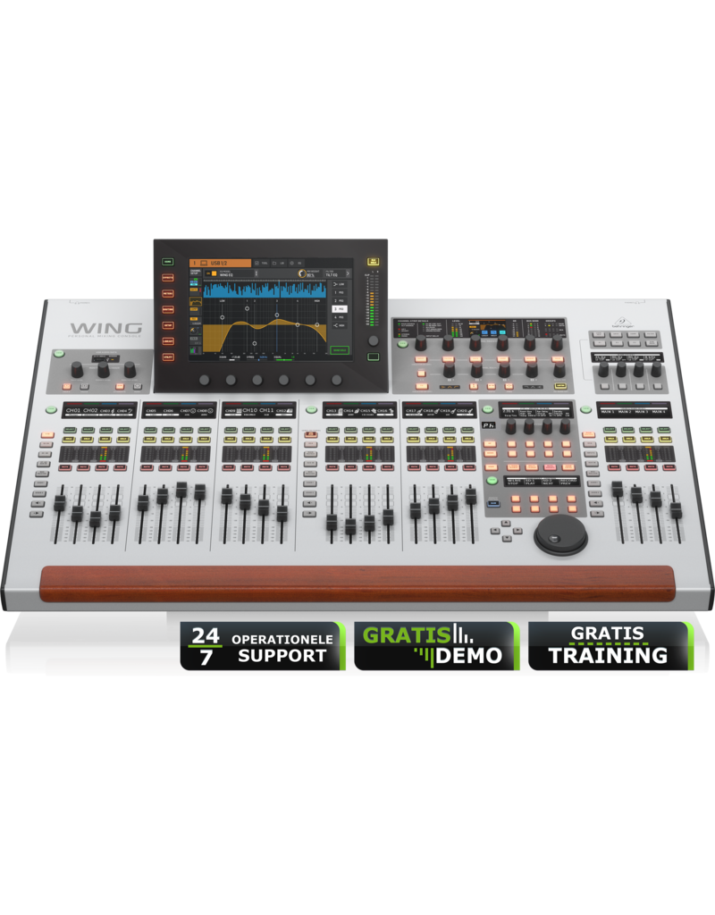 Behringer WING - Personal Mixing Console (incl. 24/7 operationele support en gratis training)