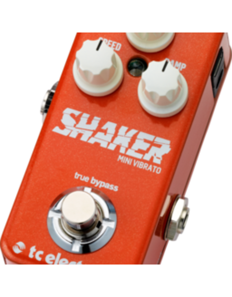 TC-Electronic Shaker Mini Vibrato - Compact stomp box