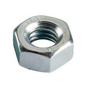 Zeskantmoer DIN934 - staal verzinkt