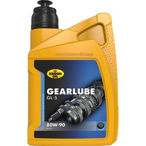Kroon-oil Kroon-oil Gearlube GL-5 80W- 90 smeerolie 1 Liter - 01206