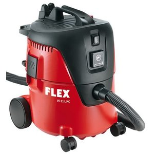 Flex powertools Flex VC 21 L MC Nat- en droogstofzuiger 20 liter - 1250W - Klasse L - +5 vlies-filterzakken - 405.418