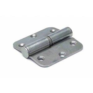 Dulimex Dulimex Kogelstiftpaumelle - rechte hoeken - staal verzinkt