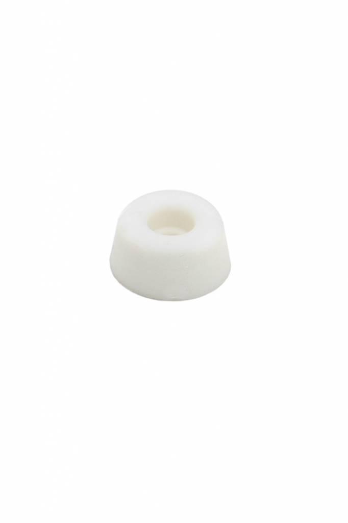 Dulimex Dulimex Closetbuffer ø20x10 - rubber wit/rood