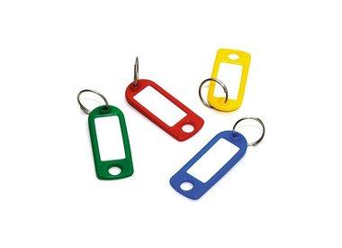 Sleutelringen- labels en hangers