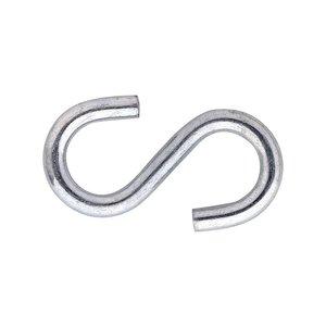 Dulimex S-haak staal verzinkt
