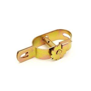 Dulimex Draadspanner met kantwiel geel verzinkt - 407-04GVK ZL