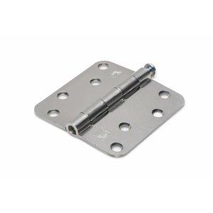 Dulimex Dulimex Scharnier - ronde hoeken - staal verzinkt
