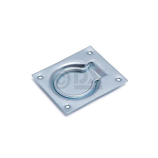 Dulimex Dulimex Luikring 75x90 mm - staal verzinkt - LKR 075 BV