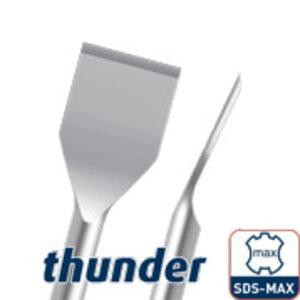 HEVU HEVU Spadebeitel gebogen Thunder SDS-max 50x380 mm - 215.1226