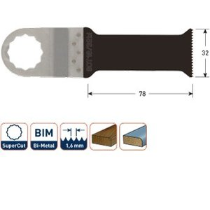Rotec Rotec Invalzaagblad SOT 16/32bi - BIM supercut - hout/metaal