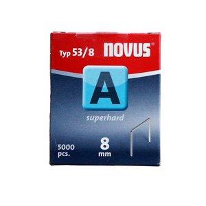 Novus Novus Dundraad nieten A 53/8 mm - 5000 stuks - 042-0517