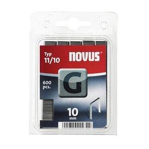 Novus Novus Vlakdraad nieten G 11/10 mm - 600 stuks - 042-0386