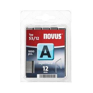 Novus Novus Dundraad nieten A 53/12 mm  SH - 1000 stuks - 042-0358