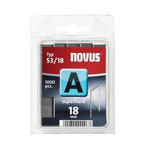 Novus Novus Dundraad nieten A 53/18 mm SH - 1000 stuks - 042-0360
