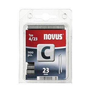 Novus Novus Smalrug nieten C 4/23 mm - 1100 stuks - 042-0392