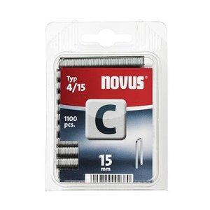 Novus Novus Smalrug nieten C 4/15 mm - 1100 stuks - 042-0390
