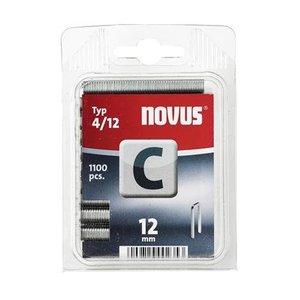 Novus Novus Smalrug nieten C 4/12 mm - 1100 stuks - 042-0389