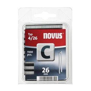 Novus Novus Smalrug nieten C 4/26 mm - 1100 stuks - 042-0393