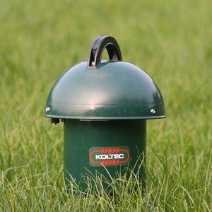 Koltec Koltec ST Batterij schrikdraadapparaat/ paddenstoel met mechanisch hart - 160-81000