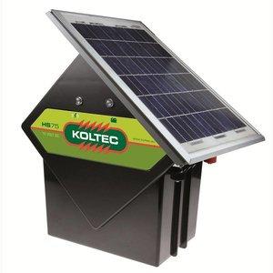 Koltec Koltec HS75 schrikdraadapparaat + 10 watt Solarset - 160-81310