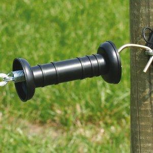 Koltec Koltec Poortgreep zwart (simpel) - 162-80029