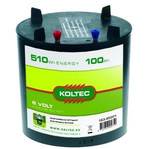 Koltec Koltec Batterij 6 volt - 100 Ah 163-45501