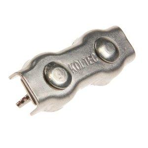 Koltec Koltec Verbinders voor koord tot 8 mm RVS/INOX - 4 stuks 162-39098-4