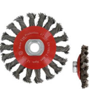 Rotec Rotec Kegelborstel Ø100 mm - M14 - Getordeerd staaldraad - 798.0040