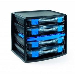 Tayg TAYG Multibox Assortimentskoffer met 4 lades