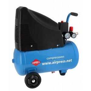 Airpress Airpress Compressor HLO 215-25 + 6-Delig accessoiresset 48140