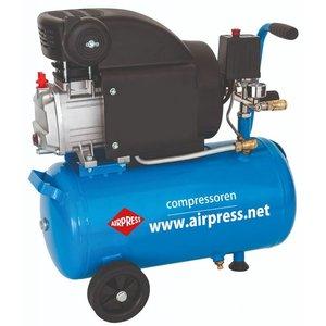 Airpress Airpress Compressor HL 310-25 + 6 delige accessoiresset