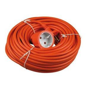 VB extend VB verlengsnoer 10 meter 2x1,0 mm² - H05VV-F - oranje