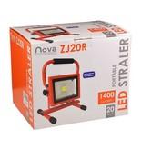Nova NOVA oplaadbare LED bouwlamp ZJ20R 20 watt