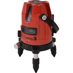 Futech Futech kruislijnlaser Multicross 3 Super Vision - rood - Li-Ion - 031.03