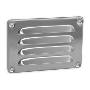 Nedco Nedco Schoepenrooster 130x90 mm - aluminium - 629.002.07