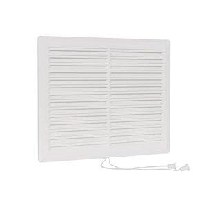 Nedco Nedco Afsluitbaar ventilatierooster 250x200 mm wit - 636.028.00
