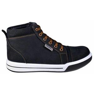 Tracks schoenen Tracks Monza werkschoen - S3 - hoog zwart leer