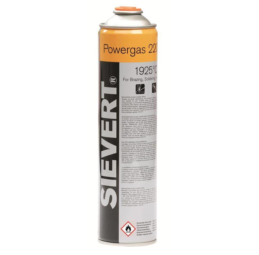 """Sievert Sievert Gaspatroon Powergas EU 7/16"""" 336G/600ML - 220483"""