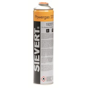 "Sievert Sievert Gaspatroon Powergas EU 7/16"" 336G/600ML - 220483"